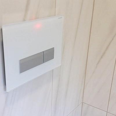 Sanacija kopalnice z Geberit sistemom
