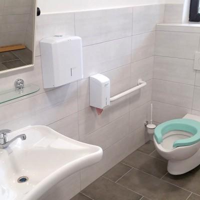 Sanacija sanitarij za invalide - ljudi z posebnimi potrebami